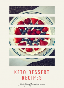 Picture of Keto Lemon Berry Tart, Keto Dessert Recipes, Ketofoodification.com