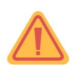 [image graphic of a yellow caution sign]
