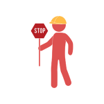 [image graphic of a man in a hard hat holding a stop sign]