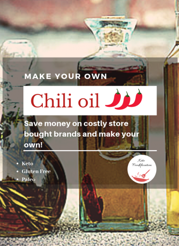 How to Make Homemade Infused Chili Oil